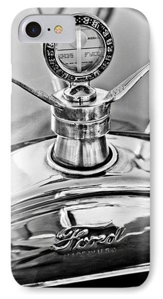 1923 Ford Model T Hood Ornament Phone Case by Jill Reger