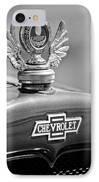 1928 Chevrolet Stake Bed Pickup Hood Ornament Phone Case by Jill Reger
