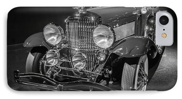 1929 Duesenberg Model J IPhone Case by Roger Mullenhour
