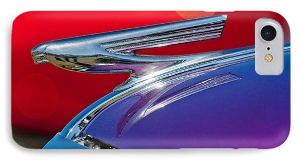 1937 Chevrolet Hood Ornament Phone Case by Jill Reger