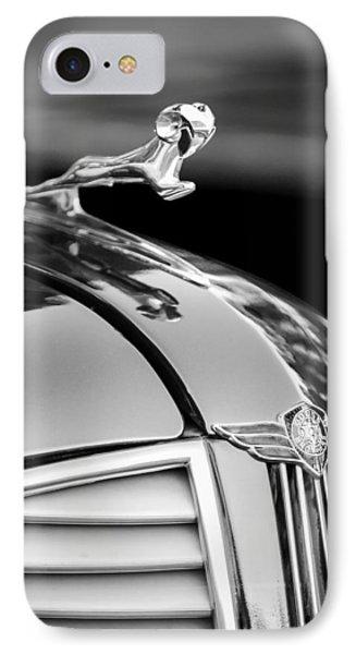 1937 Dodge Hood Ornament - Emblem Phone Case by Jill Reger