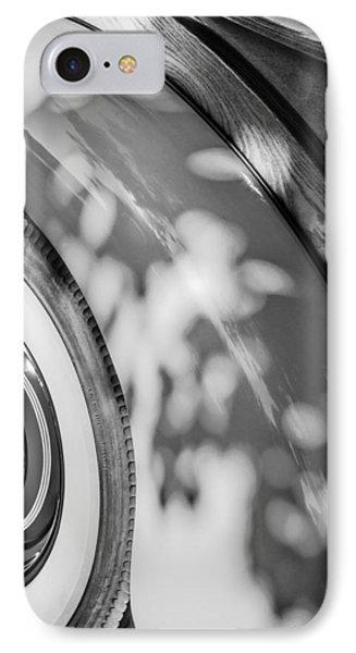 1940 International D-2 Station Wagon Wheel IPhone Case by Jill Reger