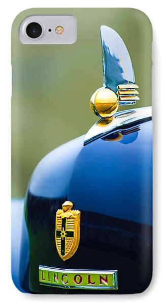 1942 Lincoln Continental Cabriolet Hood Ornament - Emblem IPhone Case