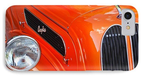 1948 Anglia 2-door Sedan Grille Emblem Phone Case by Jill Reger