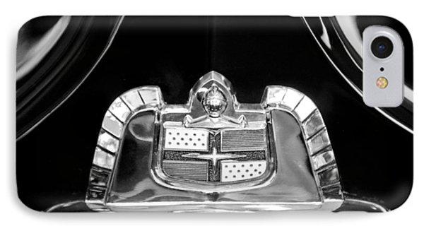1950 Lincoln Cosmopolitan Limousine Emblem Phone Case by Jill Reger
