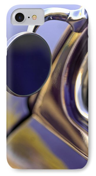 1950 Mercury Custom Lead Sled Side Mirror IPhone Case