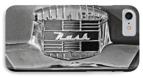 1951 Nash Emblem Phone Case by Jill Reger
