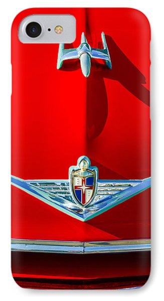 1954 Lincoln Capri Hood Ornament IPhone Case by Jill Reger