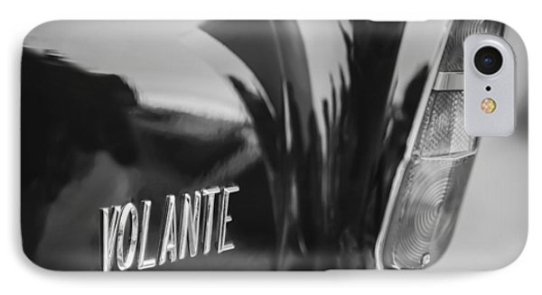 1956 Aston Martin Short Chassis Volante Taillight Emblem IPhone Case
