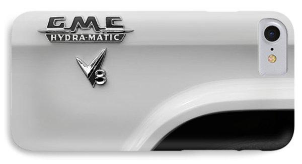 1956 Gmc 100 Deluxe Edition Pickup Truck Emblem Phone Case by Jill Reger