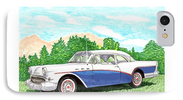 1957 Buick Special Hard Top Convertible IPhone Case