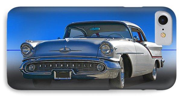 1957 Custom Oldsmobile Phone Case by Dave Koontz