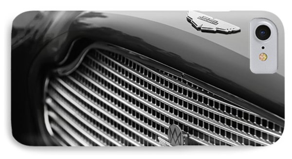1960 Aston Martin Db4 Gt Coupe' Grille Emblem IPhone Case