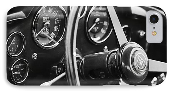 1960 Aston Martin Db4 Gt Coupe' Steering Wheel Emblem IPhone Case
