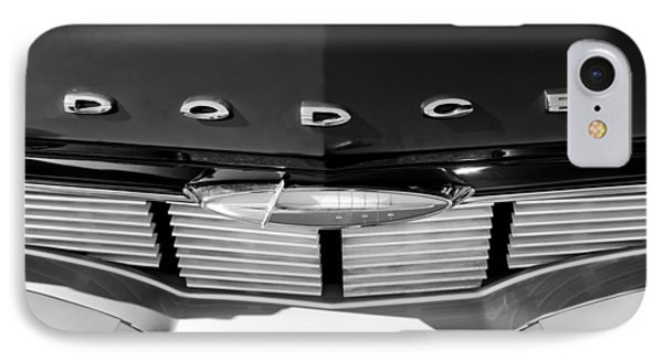 1960 Dodge Grille Emblem Phone Case by Jill Reger