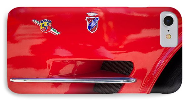 1962 Fiat Abarth 2300 S Coupe Emblems Phone Case by Jill Reger