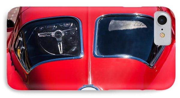 1963 Chevrolet Corvette Split Window -1073c IPhone Case by Jill Reger