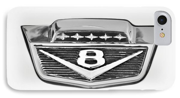 1966 Ford F100 Pickup Truck Emblem IPhone Case by Jill Reger
