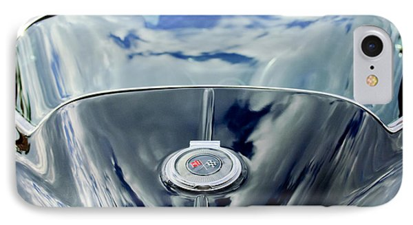 1967 Chevrolet Corvette Rear Emblem IPhone Case by Jill Reger