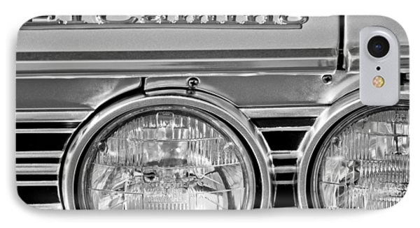 1967 Chevrolet El Camino Pickup Truck Headlight Emblem Phone Case by Jill Reger