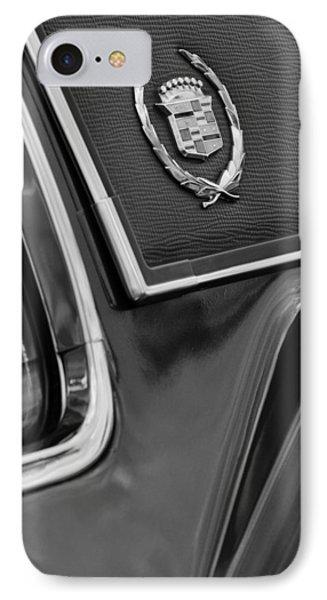 1969 Cadillac Eldorado Emblem Phone Case by Jill Reger