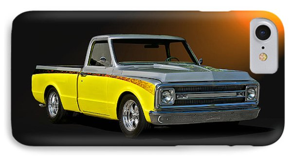 1969 Chevrolet C10 Pick Up Phone Case by Dave Koontz