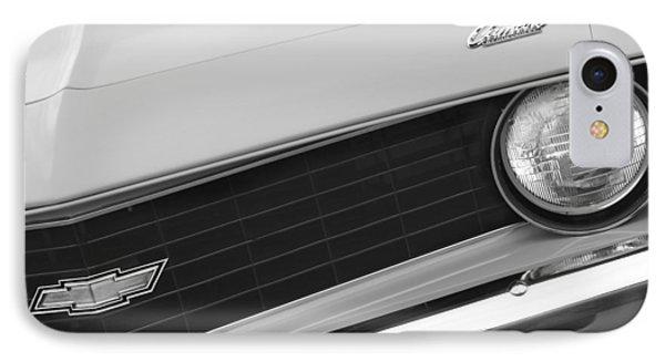 1969 Chevrolet Camaro Copo Replica Grille Emblems Phone Case by Jill Reger
