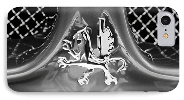 1969 Iso Grifo Grille Emblem Phone Case by Jill Reger