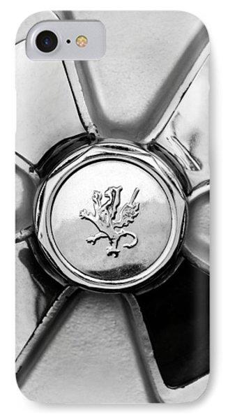 1971 Iso Fidia Wheel Emblem IPhone Case by Jill Reger