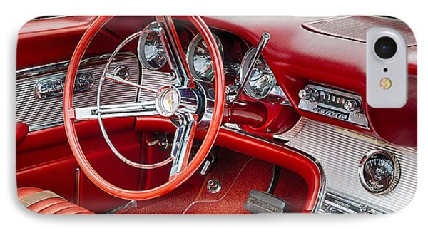 62 Thunderbird Interior IPhone Case by Jerry Fornarotto
