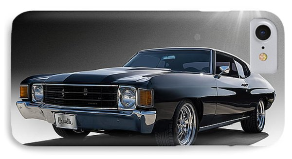 '72 Chevelle IPhone Case by Douglas Pittman
