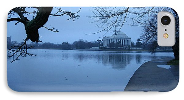 IPhone Case featuring the photograph A Blue Morning For Jefferson by Cora Wandel
