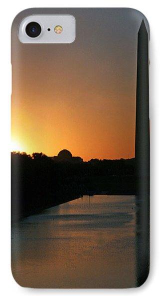 A Capitol Sunrise IPhone Case by Cora Wandel