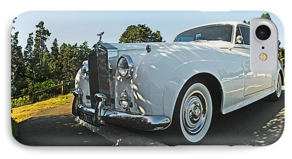 A Classic Rolls Royce Phone Case by Ron Sanford