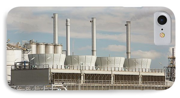 A Gas Fired Power Station At Salt End IPhone Case