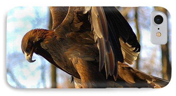 A Golden Eagle Phone Case by Raymond Salani III