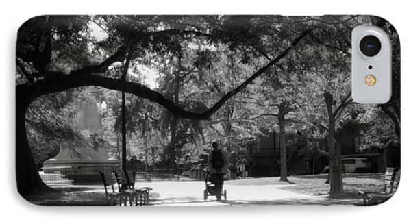 A Walk In The Park IPhone Case by Shelley Bain