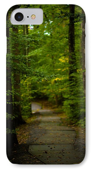 A Walk In The Woods IPhone Case by Shane Holsclaw
