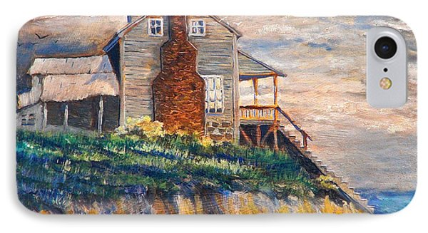 Abandoned Beach House IPhone Case by Dan Redmon