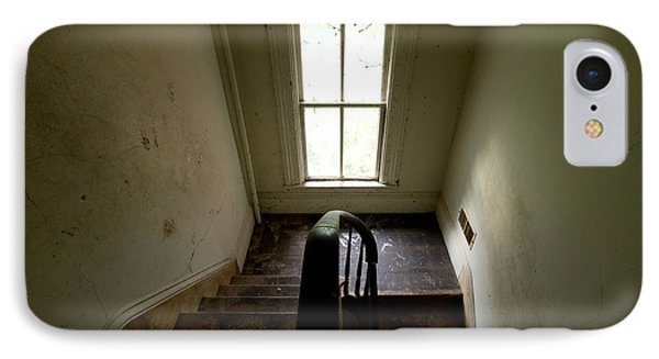 Abandoned Stairs IPhone Case by Cale Best