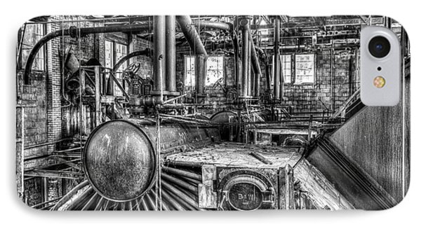 Abandoned Steam Plant IPhone Case