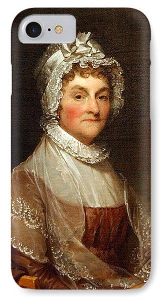 Abigail Smith Adams By Gilbert Stuart IPhone Case by Cora Wandel