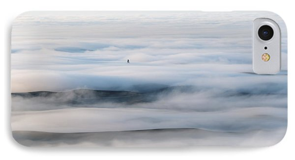 Above The Clouds IPhone Case by Mike  Dawson