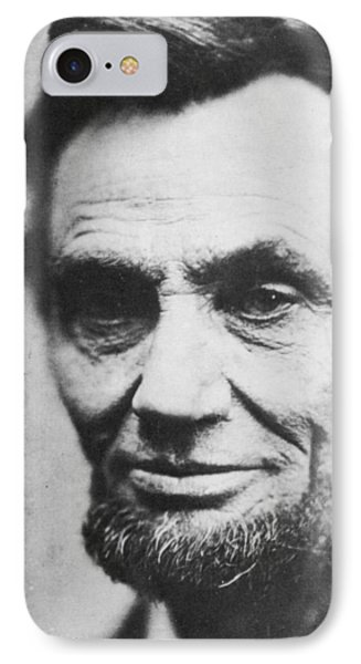 Abraham Lincoln IPhone Case by Anonymous