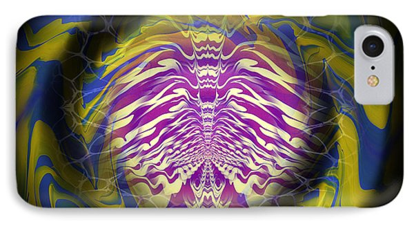 Abstract 141 Phone Case by J D Owen