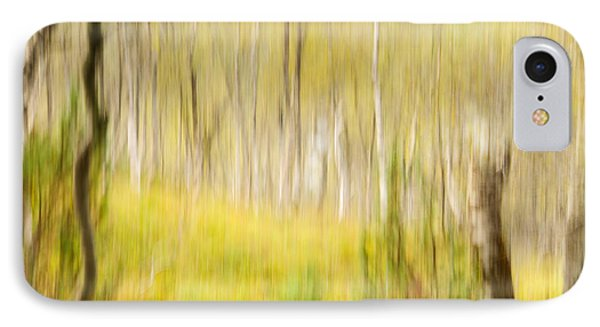Abstract Forest Scenery  Phone Case by Gry Thunes