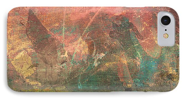 Abstract Print 2 Phone Case by Filippo B