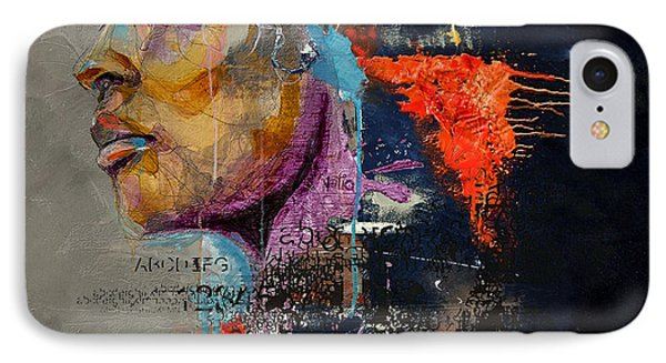 Abstract Women 015 Phone Case by Corporate Art Task Force