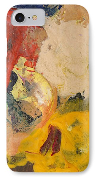 Acrylic Abstract Painting IPhone Case by Donald  Erickson