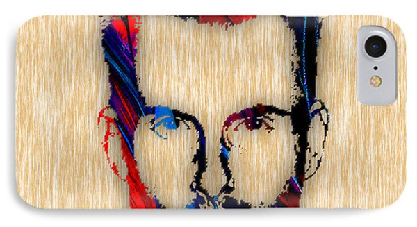 Adam Levine Maroon 5 Painting IPhone Case by Marvin Blaine